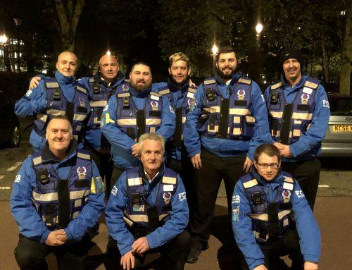 Cardiff night marshal service